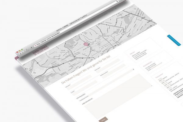 alexamarketing_webdesign_dental-corner-kontakt
