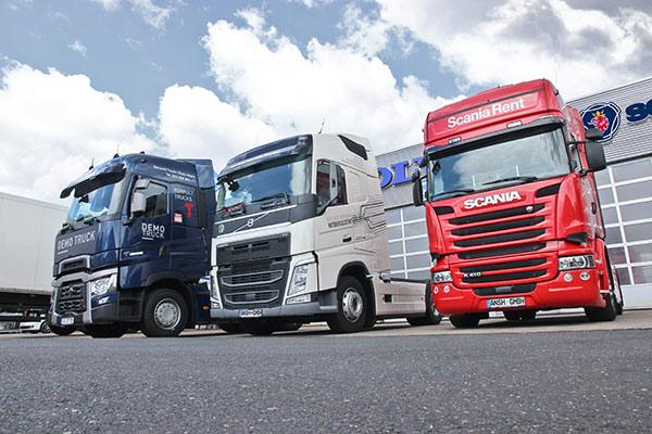 Volvo, Renault, Scania - Trucks