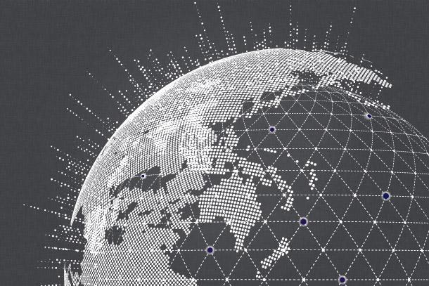 Globus dunkel