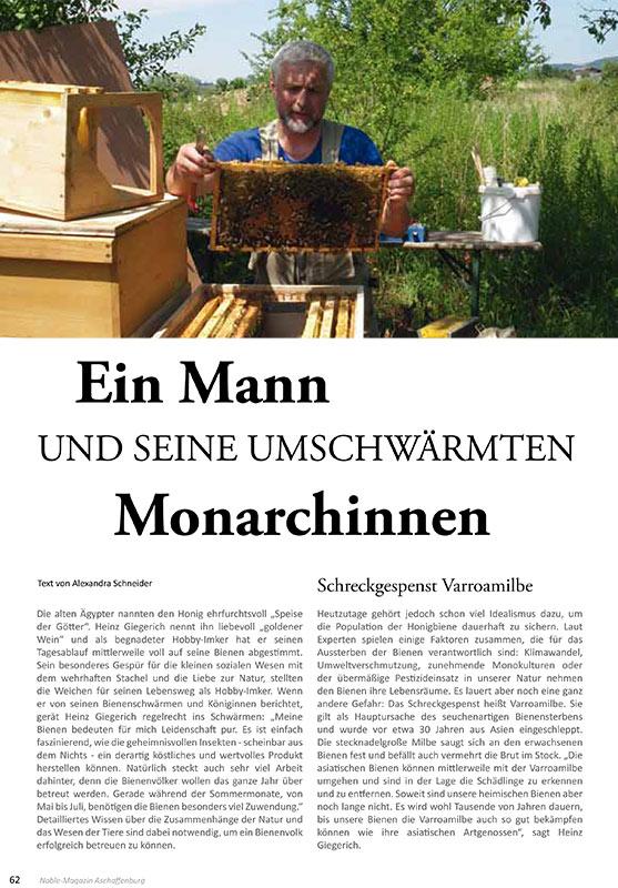 Artikel Imkereihandwerk - Alexandra Schneider