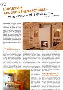 Artikel Imkersauna - Alexandra Schneider