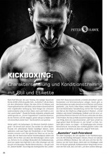 Artikel Kickboxing - Alexandra Schneider