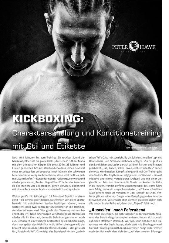 Redaktioneller Beitrag: Kampfsportschule