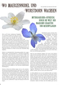 Artikel Wildkräuterwanderung - Alexandra Schneider