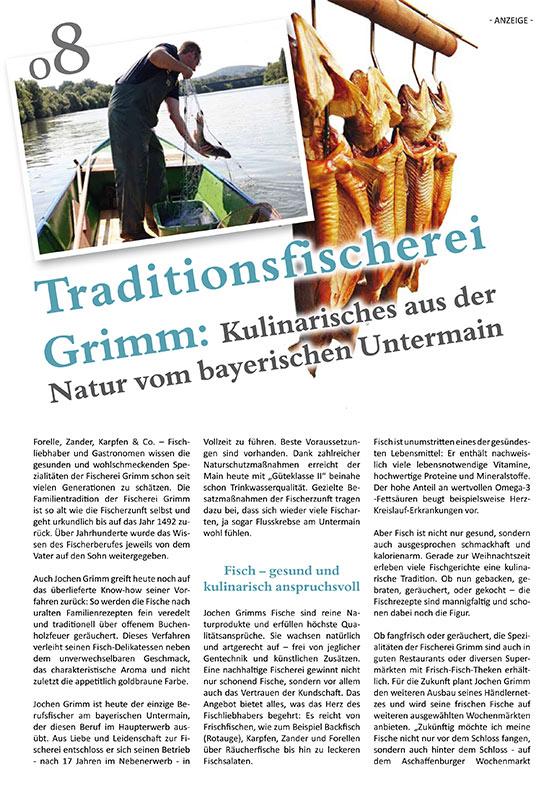 Redaktioneller Beitrag: Traditionsfischerei