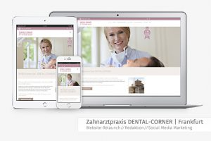 Responsive Webdesign Arztpraxis