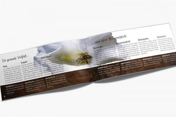 Imageproschüre Bienenprodukte