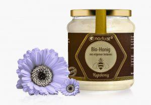 Honigglas-Etiketten Rapshonig