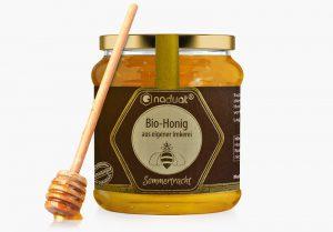Honigglas-Etiketten Sommertracht