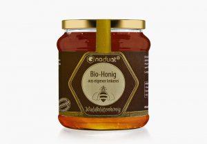 Honigglas-Etiketten Waldblütenhonig