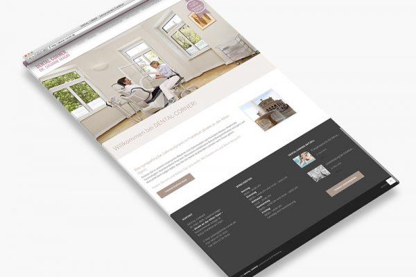 Website Dental Corner - Landigpage