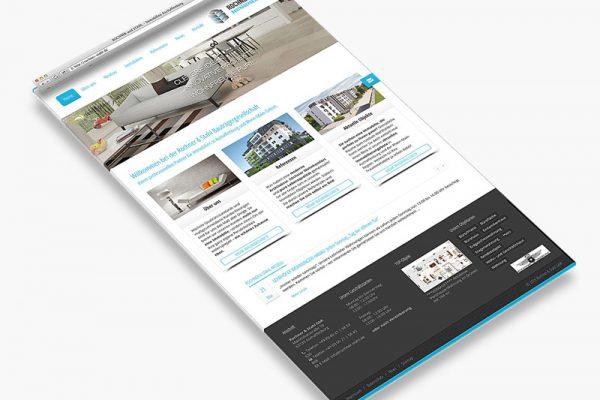 Website Rochner und Stahl - Landigpage