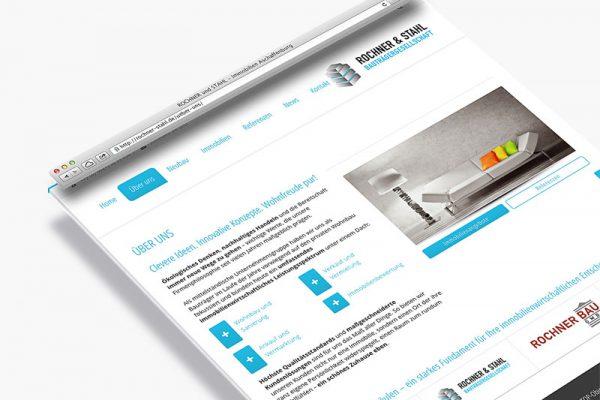 Website Rochner und Stahl - Über uns