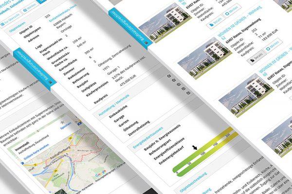Website Rochner und Stahl - Immobilien