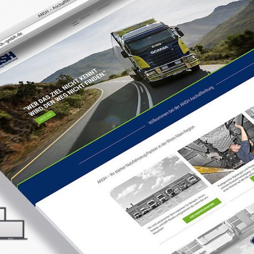 Responsive Webdesign ANSH GmbH