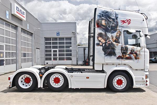 TiDe-Spedition Truck