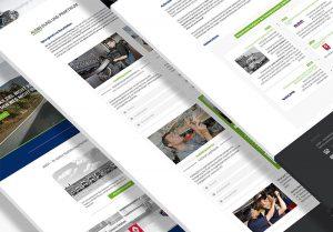 Website ANSH GmbH Aschaffenburg