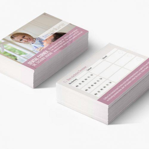 Terminkarten Zahnarzt