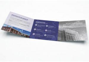 Winkelfalz-Flyer